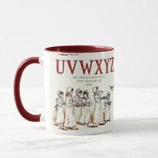 Apple Pie Appreciation UVWXYZ Mug
