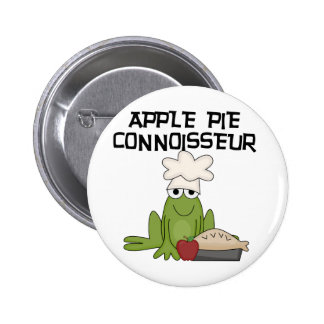 Apple Pie Connoisseur Tshirts and Gifts Buttons