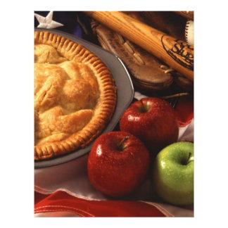 Apple pie full colour flyer