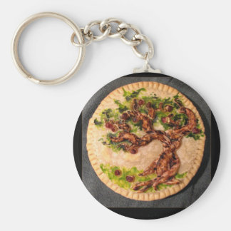 Apple Pie Keychain