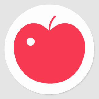 Apple Products & Designs! Classic Round Sticker