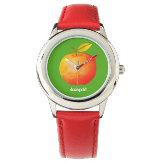 Apple Red Jonagold Cartoon Fruit Simple Stylish Watch