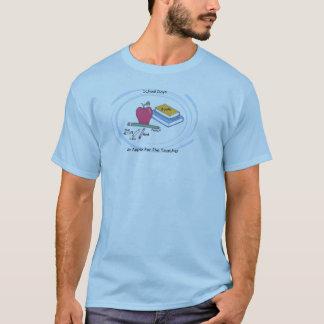 Apple School Days  His Blue  T-Shirt