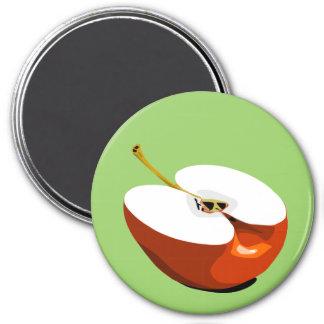 Apple slice magnet