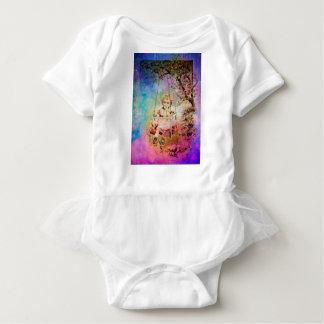 APPLE SLICE UNDER THE TREEE BABY BODYSUIT