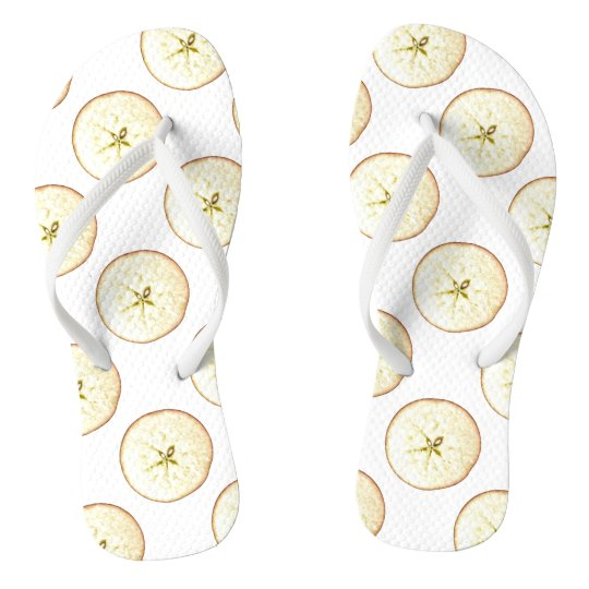 Apple Slices flip Flops