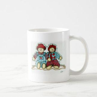Apple Snowman Couple Coffee Mug