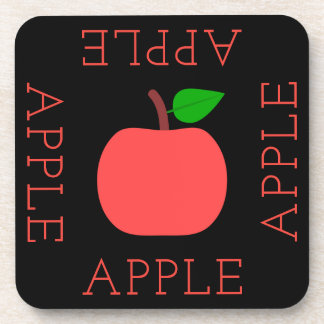 Apple Square Coaster