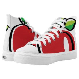 Apple Swoozle Zipz High Top Shoes