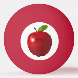 Apple Table Tennis Ball