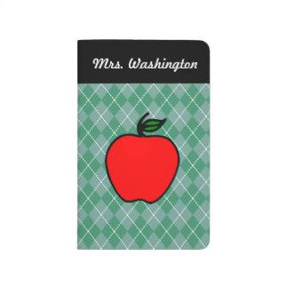 Apple Teacher's Journal Planner Notes Gift