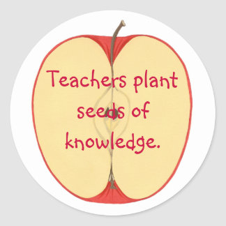 Apple, Teachers Plant Seeds of Knowledge Stickers