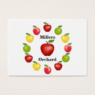 Apple Time, Delicious, Granny Smith, Pink Variety Business Card