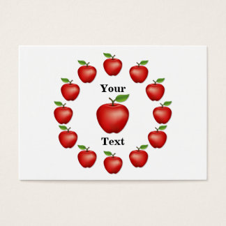 Apple Time, Red Delicious Business Card