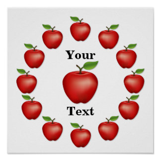 Apple Time, Red Delicious Poster
