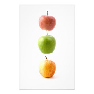 Apple Time Stationery Design