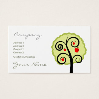 Apple Tree Business Card