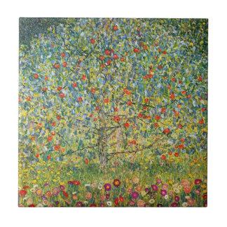 Apple Tree by Gustav Klimt Tile