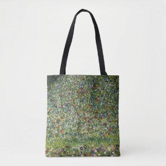 Apple Tree by Gustav Klimt Vintage Fine Art Tote Bag