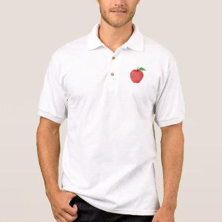 Apple Watercolor Polo Shirt