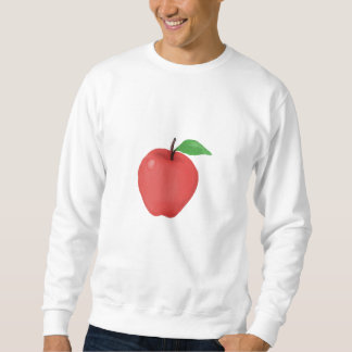 Apple Watercolor Sweatshirt
