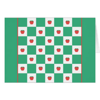 """Applegarth"" Green Note Card"
