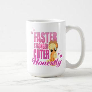 Applejack | Faster Stronger Cuter Honestly Coffee Mug
