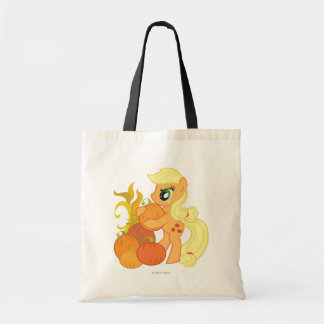 Applejack with Pumpkins Tote Bag