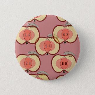 apples 2 inch round button