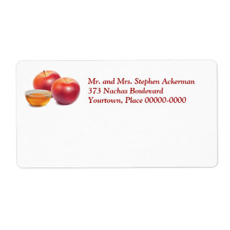 Apples and Honey Mailing Label