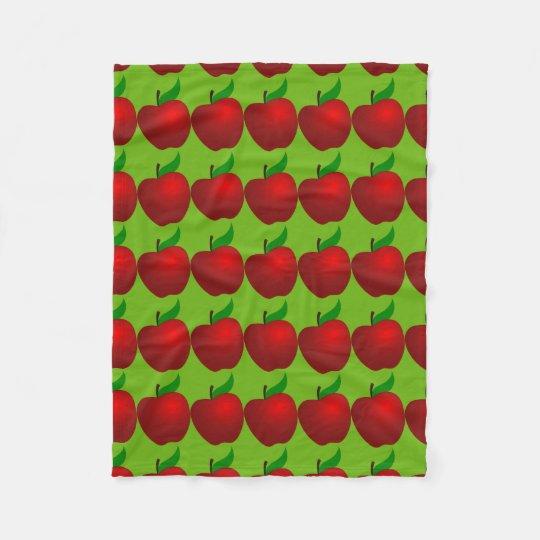 Apples and More Apples Fleece Blanket