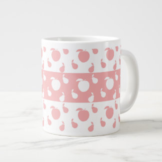 Apples and pears large coffee mug