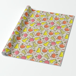 Apples and Pears! Wrapping Paper