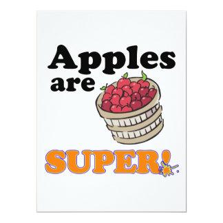 apples are super invite