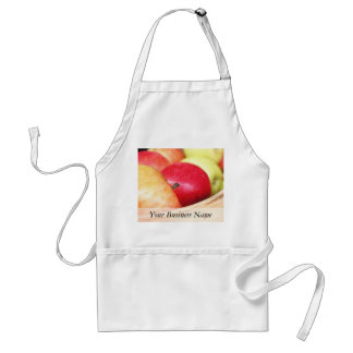 Apples At The Farmers Market Adult Apron
