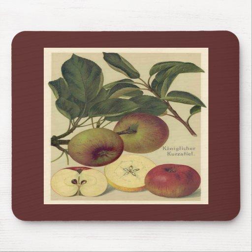 """Apples Botanical"" Mouse Mat"