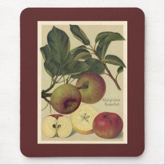 Apples Botanical Mouse Pad
