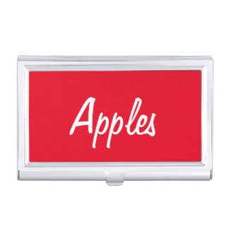 Apples Business Card Holder