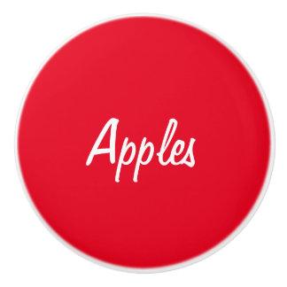 Apples Ceramic Knob