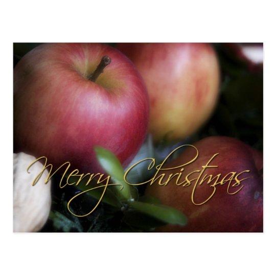 Apples • Christmas Postcard