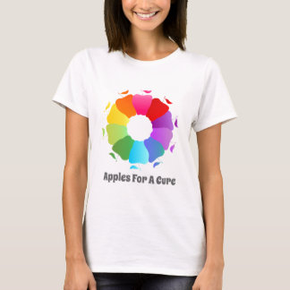 Apples For A Cure - Circle of Awareness T-Shirt