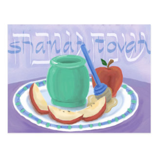 Apples & Honey Rosh Hashanah Card