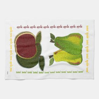 Apples n Pears Hand Towel