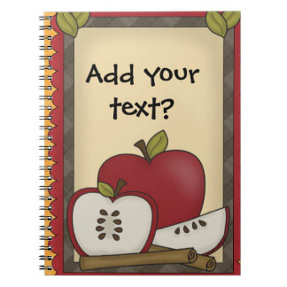 Apples Notes or Appointments Spiral Notebook