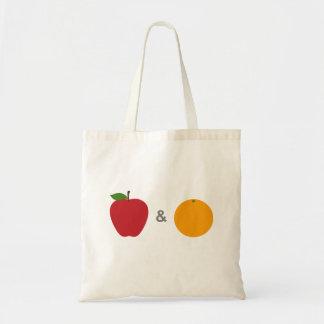Apples & Oranges Tote Bag