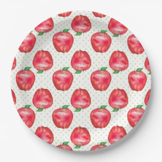 Apples Paper Plate