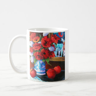 Apples & Poppies Coffee Mug