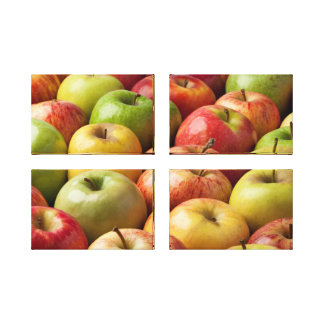 Apples - Ripe & Colorful Canvas Print