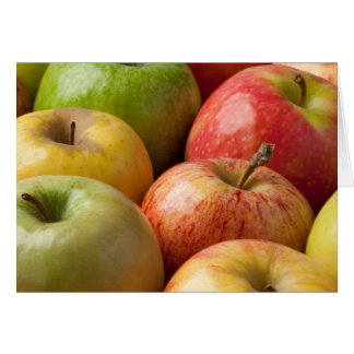 Apples - Ripe & Colorful Card