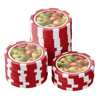 Apples - Ripe & Colorful Poker Chips